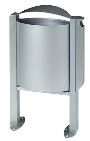 Abfallbehälter mit Ascher - 40L/3L in 4 Farben – Bild 1