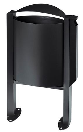 Abfallbehälter mit Ascher - 40L/3L in 4 Farben – Bild 3