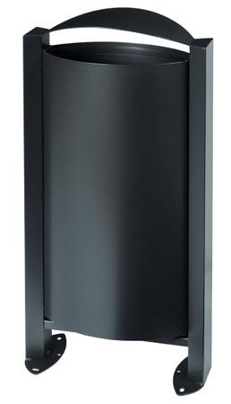 Abfallbehälter ohne Ascher, 60L in 4 Farben – Bild 4