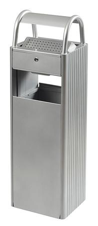 Abfallbehälter mit Ascher, 30L/6L in 6 Farben – Bild 3