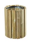 Wandabfallbehälter aus Holz 20L
