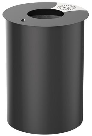Standabfallbehälter mit Schloss, 60L in 3 Farben – Bild 1