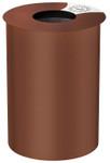 Standabfallbehälter 60L Cortenstahl Schein