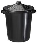 Set mit 6 Kunststoffabfallbehälter zum Aufstellen 80L 001