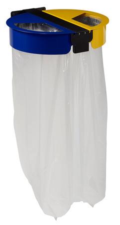 Müllsackhalterung für die Wandmontage: 2 Behälter x 110L
