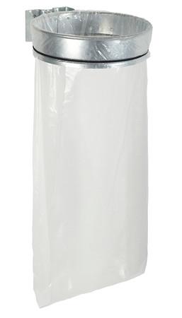Müllsackhalterung für die Wand ohne Deckel 110L - Feuerverzinkt