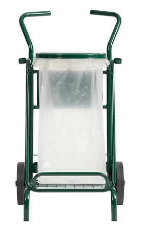Abfallwagen für draußen mit Vollgummirädern 110L – Bild 4