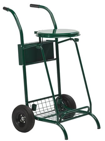 Abfallwagen für draußen - Bereifte Räder 110L – Bild 1