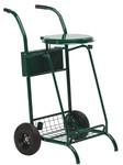 Abfallwagen für draußen - Bereifte Räder 110L