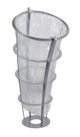 Standabfallbehälter, Abfallsackständer in 3 Farben, 65L