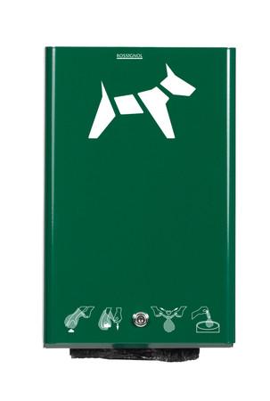 Kotbeutelspender für Wandmontage in 5 Farben, 200 Beutel