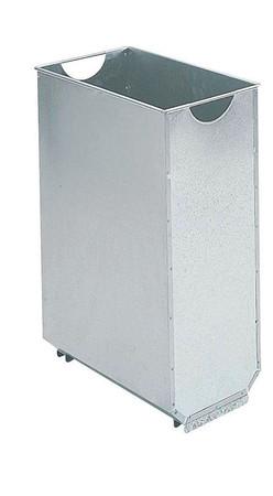 Zubehör: Innenbehälter für Wandabfallkorb 60L, verzinkt