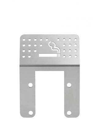 Zubehör: Zigarettengitter für Müllsackhalterungen aus Edelstahl – Bild 1