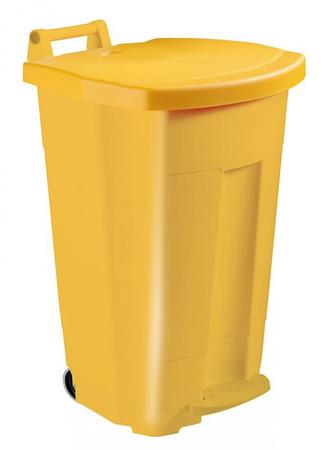 Fahrbarer Treteimer 90 Liter, HACCP in mehreren Farben – Bild 1