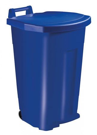 Fahrbarer Treteimer 90 Liter, HACCP in mehreren Farben – Bild 3
