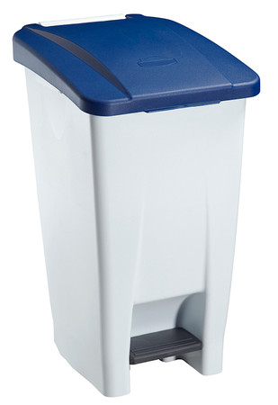 Fahrbarer Treteimer 60 Liter in mehreren Farben, HACCP