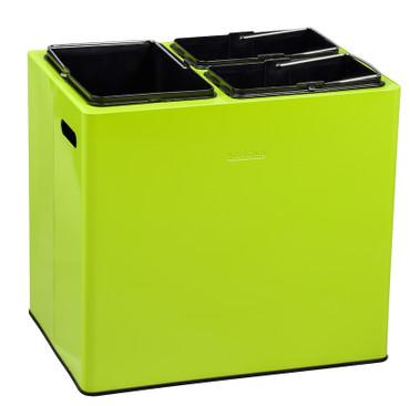 Müllbehälter für Abfalltrennung 31 L mit 3 Innenbehältern (15 L + 2 X 8 L) – Bild 1