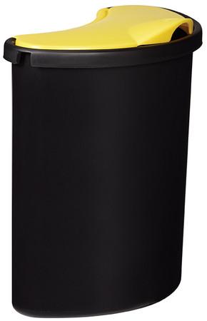 Abfalleimer zur Mülltrennung inkl. 3 Behälter – Bild 3