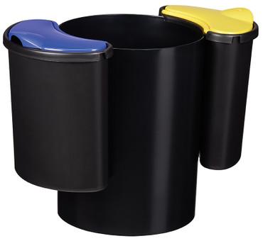 Abfalleimer zur Mülltrennung inkl. 3 Behälter – Bild 1