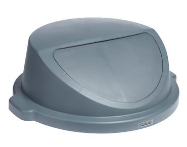 Zubehör: Deckel mit Einwurfklappe 80L, Grau – Bild 1