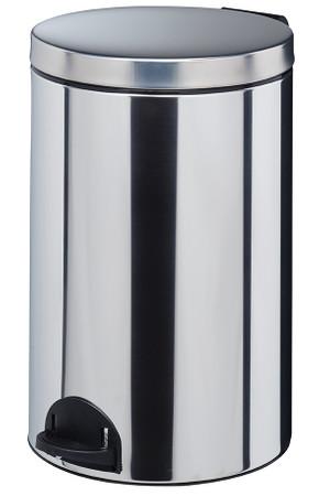 Tretmülleimer mit antibakteriellem Innenbehälter 20L aus Edelstahl