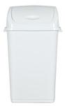 Mülleimer mit Schwingdeckel aus Kunststoff 50L 001