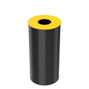 Abfallkörbe für Abfalltrennung 50L in mehreren Farben – Bild 1
