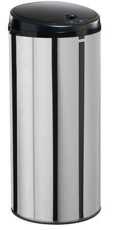 Mülleimer mit Sensor Automatik, Edelstahl, 45L