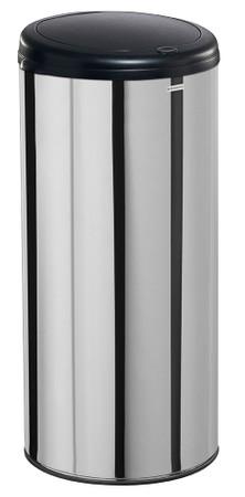 Mülleimer manuelles Öffnungssystem, Edelstahl, 45L