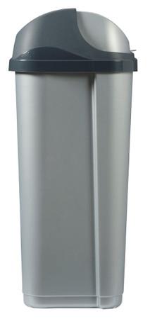 Mülleimer mit Schiebedeckel, 50L – Bild 3