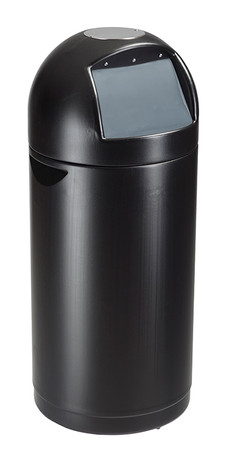 Abfallbehälter mit Deckelklappe - 52L – Bild 1