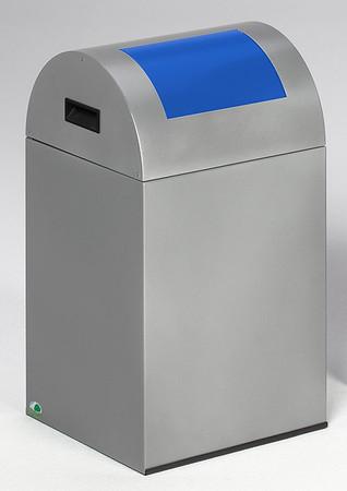 Selbstlöschender Wertstoffsammler mit Einwurfklappe in mehreren Farben, 43L – Bild 5