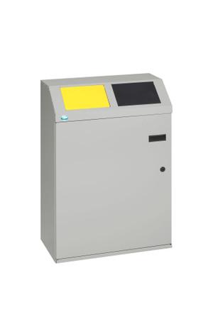 Wertstoffsortiersystem 2-fach, 100L – Bild 1