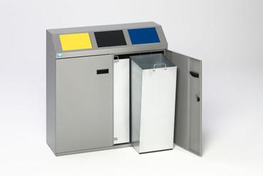 Wertstoffsortiersystem 3-fach, 150L – Bild 2