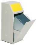 Wertstoffsammelgerät TÜV-geprüft in mehreren Farben, 69L