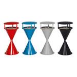 Standascher aus recycelbarem Kunststoff mit Dach und Bodenronde in 4 Farben