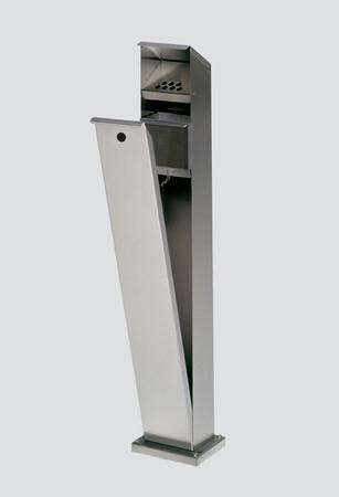 Standaschenbecher für Außeneinsatz aus Edelstahl, 2L – Bild 2