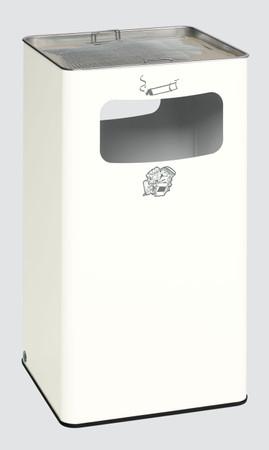 Abfallbehälter mit Ascher, 96L in 6 Farben – Bild 2
