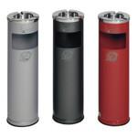 Abfallbehälter mit Ascher 11,6L/0,2L in 5 Farben