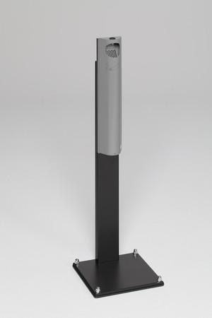 Wandascher mit Standfuss, verschließbar - 3,5L in 6 Farben – Bild 3