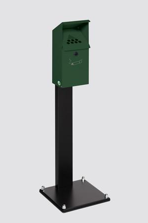 Wandaschenbecher mit Standfuß - 3,7L – Bild 2