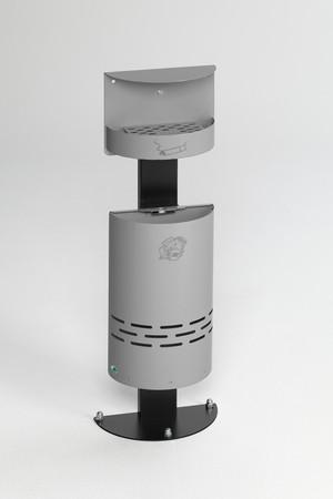 Abfallbehälter mit Ascher, 13L / 1,5L in 6 Farben – Bild 3