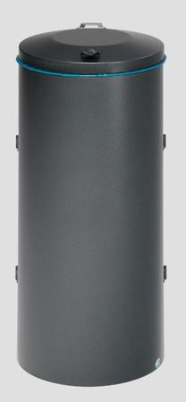 Wertstoffsammler mit Doppelflügeltür aus Stahl, 120L in mehreren Farben – Bild 6