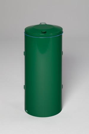 Wertstoffsammler mit Doppelflügeltür aus Stahl, 120L in mehreren Farben – Bild 9