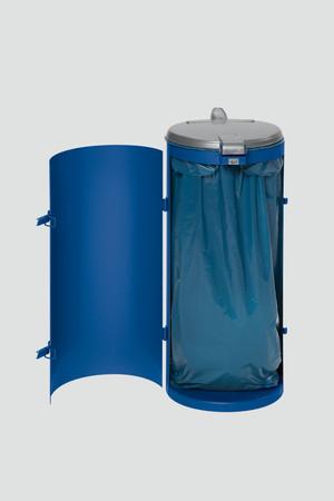 Müllsammler mit Einflügeltür für 120L Abfallsäcke in mehreren Farben – Bild 2