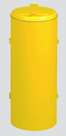 Müllsammler mit Einflügeltür für 120L Abfallsäcke in mehreren Farben – Bild 5