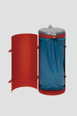 Müllsammler mit Einflügeltür für 120L Abfallsäcke in mehreren Farben – Bild 8