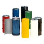 Müllsammler mit Einflügeltür für 120L Abfallsäcke in mehreren Farben