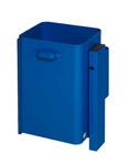 Abfallbehälter zur Wand- oder Rohrbefestigung in 3 Ausführungen, 40L 001