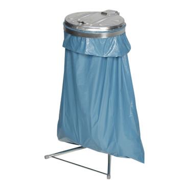 Müllsackständer mit Metalldeckel in 2 Ausführungen – Bild 1